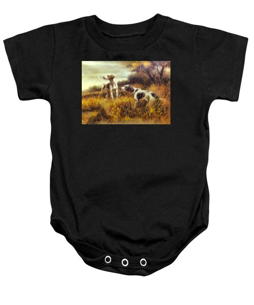 Hunting Dogs No1 Baby Onesie