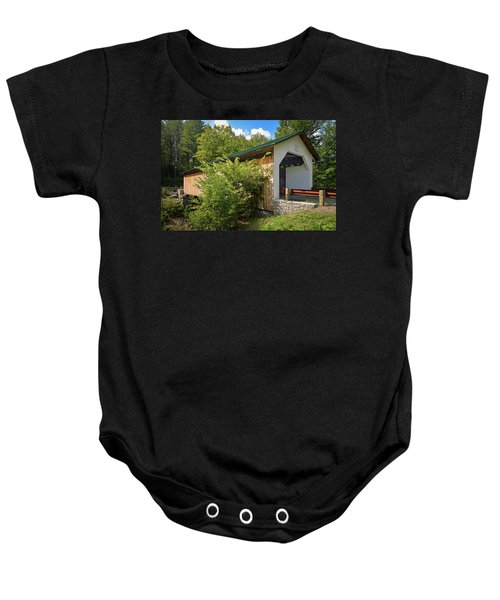 Hutchins Bridge Baby Onesie