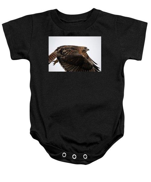 Hybrid Hawk Flyby  Baby Onesie
