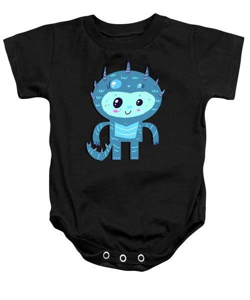 Ice Monster Boy Baby Onesie