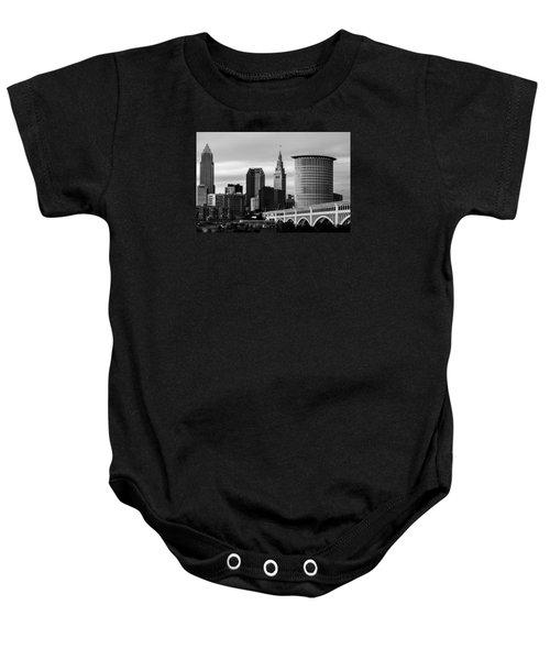 Iconic Cleveland Baby Onesie
