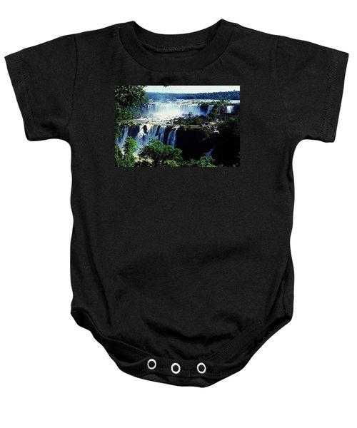 Iguacu Waterfalls Baby Onesie