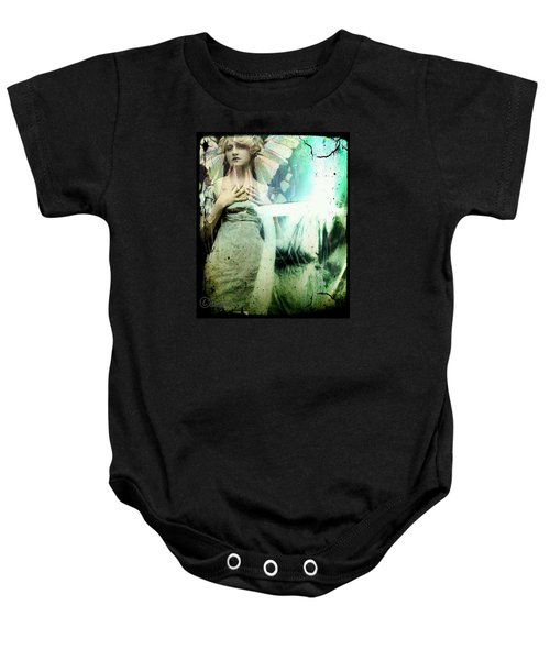 In Her Dreams She Could Fly Unfettered Baby Onesie