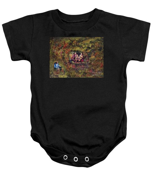 In The Name Of Music Baby Onesie
