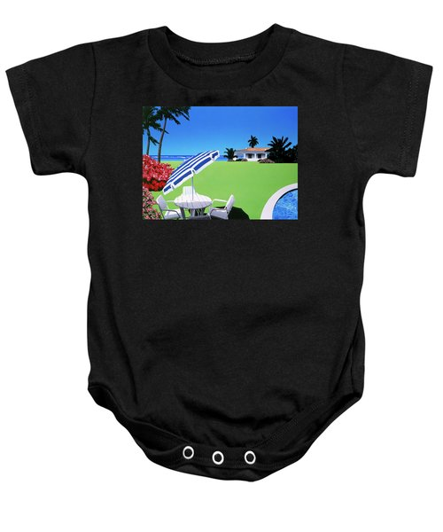 In The Shade Baby Onesie