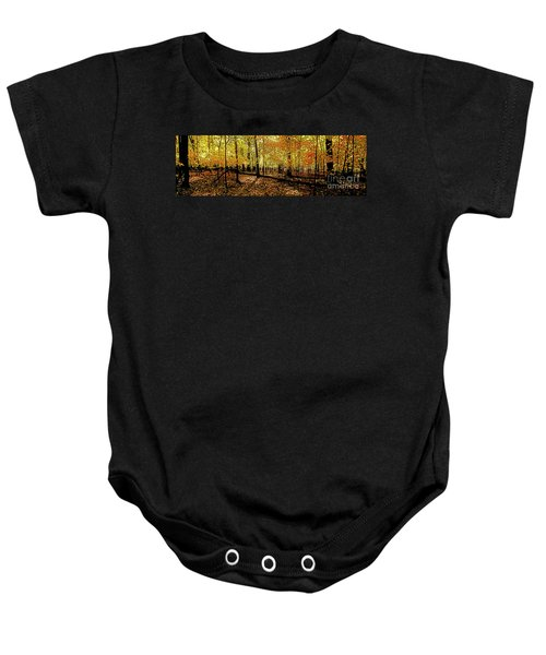 In The The Woods, Fall  Baby Onesie