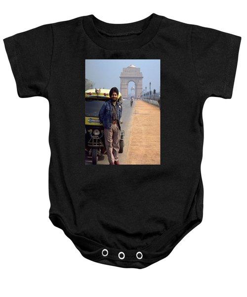 India Gate Baby Onesie