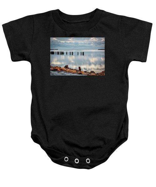 Indian River Morning Baby Onesie