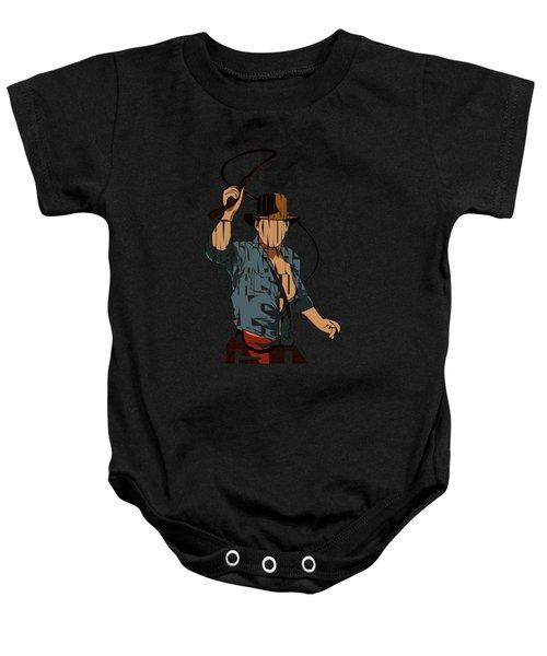 Indiana Jones - Harrison Ford Baby Onesie
