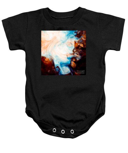 Ink Swirls 001 Baby Onesie