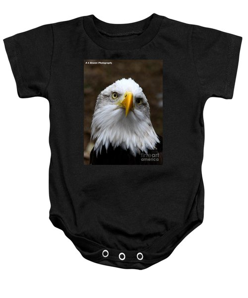 Inquisitive Eagle Baby Onesie