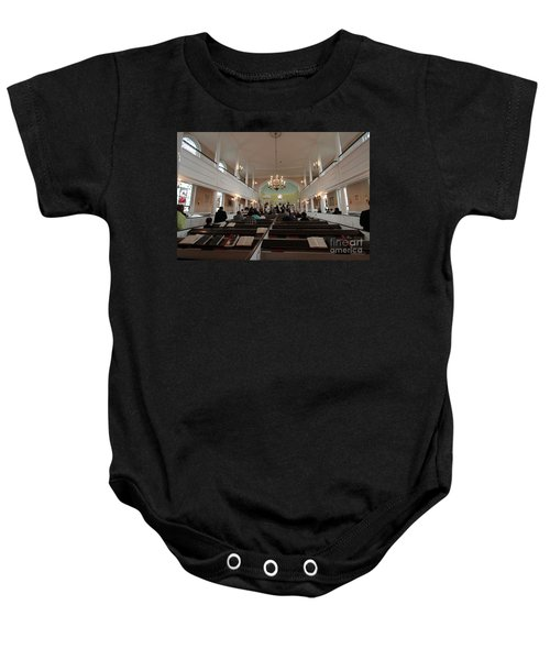 Inside The St. Georges Episcopal Anglican Church Baby Onesie