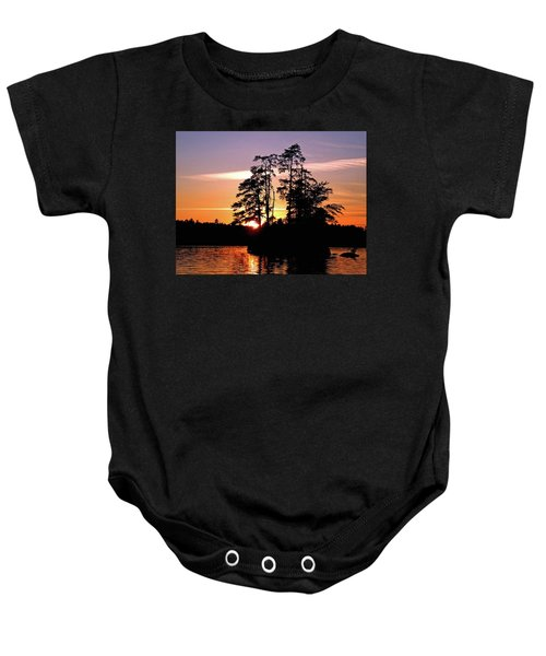 Into Shadow Baby Onesie