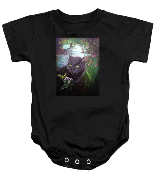 Into The Light Baby Onesie