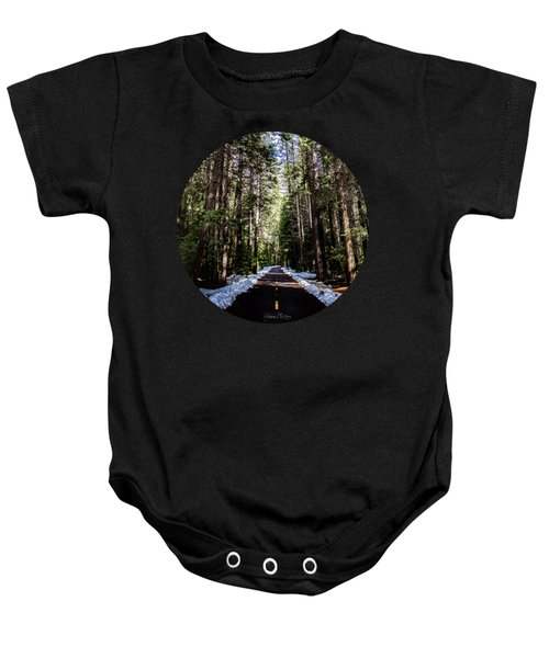 Into The Woods Baby Onesie by Adam Morsa