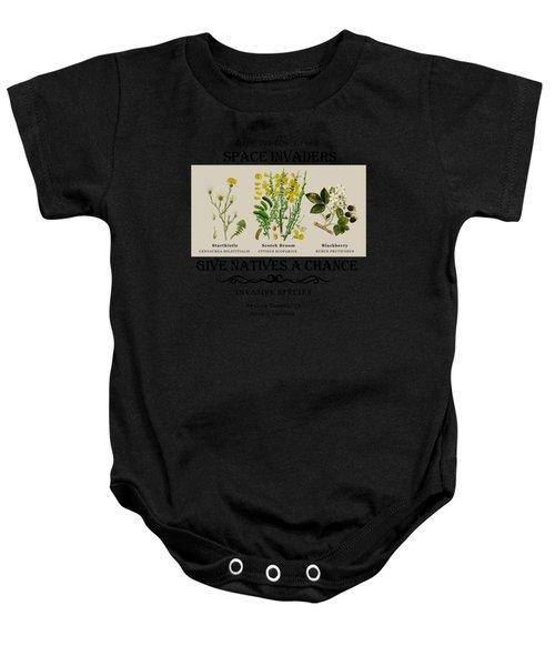 Invasive Species Nevada County, California Baby Onesie
