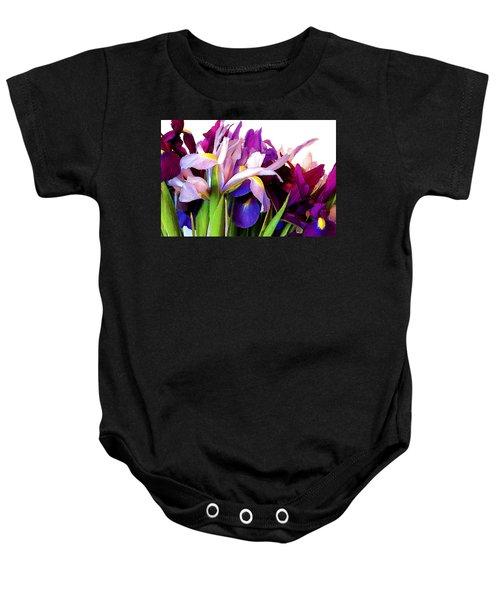 Iris Bouquet Baby Onesie