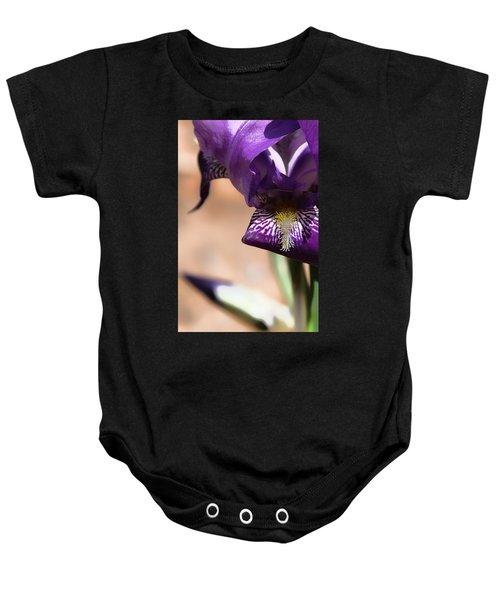 Iris Gemanica Baby Onesie