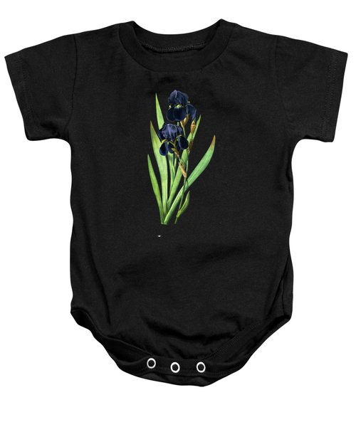 Iris Germanica Baby Onesie