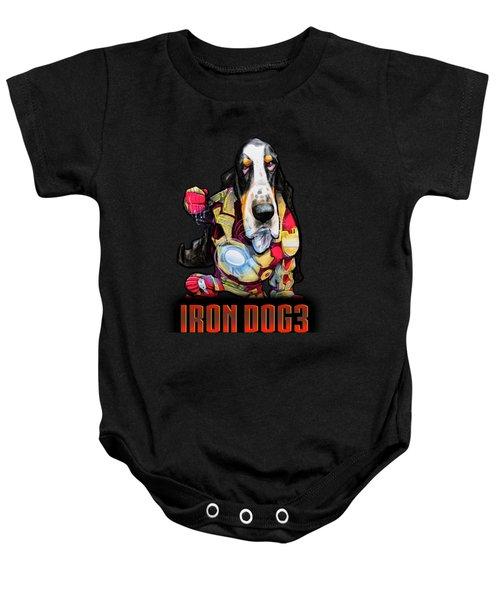 Iron Dog 3 Baby Onesie