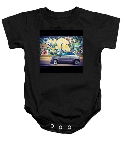 Is It Safe To Drive Mr. #fiat Into The Baby Onesie