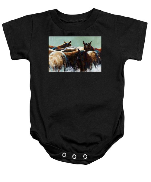 Its All About The Brush Stroke Baby Onesie