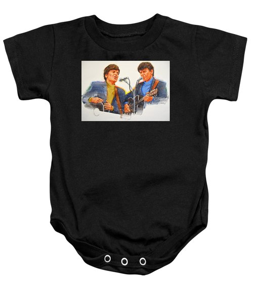 Its Rock And Roll 4  - Everly Brothers Baby Onesie