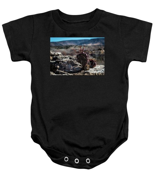 Itty Bitty Prickly Pear Cactus Baby Onesie