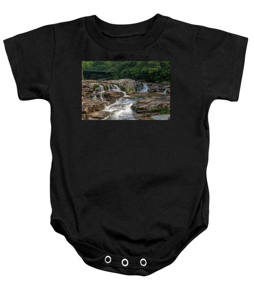 Jackson Falls Baby Onesie