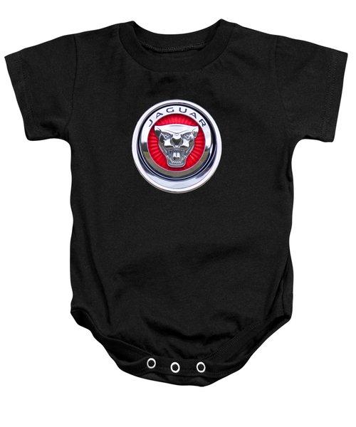 Jaguar Emblem Baby Onesie
