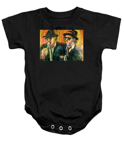 Jake And Elwood Baby Onesie