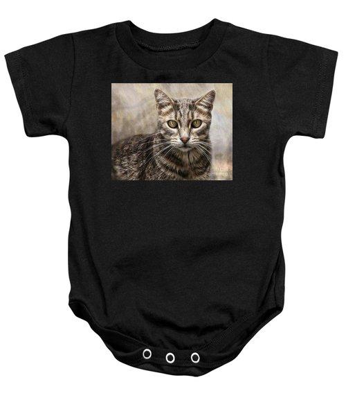 Janie's Kitty Baby Onesie