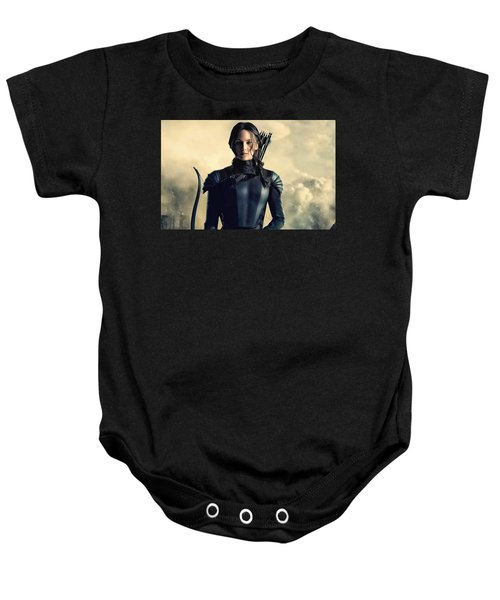 Jennifer Lawrence The Hunger Games  2012 Publicity Photo Baby Onesie