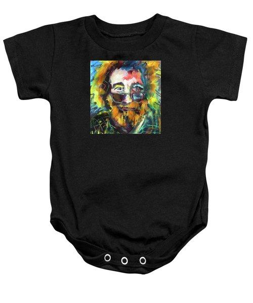 Jerry Garcia Baby Onesie