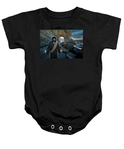 Jesus Christ- And Surely I Am With You Always Baby Onesie