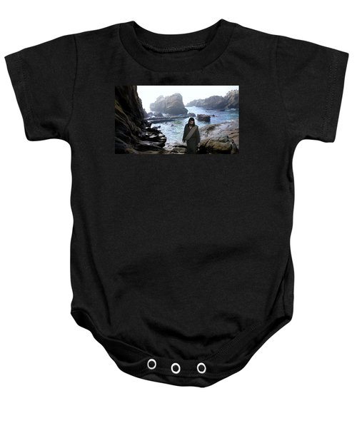 Jesus Christ- Be Not Dismayed For I Am Your God Baby Onesie