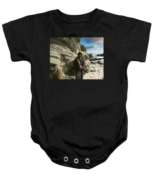 Jesus Christ- I Have Heard Your Prayer And Seen Your Tears I Will Heal You Baby Onesie