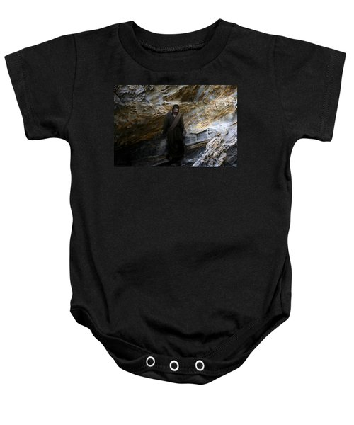 Jesus Christ- The Lord Is My Light And My Salvation Baby Onesie
