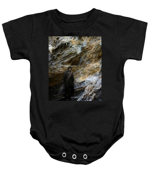 Jesus Christ- You Are My Hiding Place And My Shield Baby Onesie
