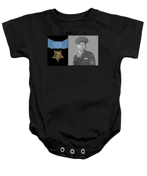John Basilone And The Medal Of Honor Baby Onesie