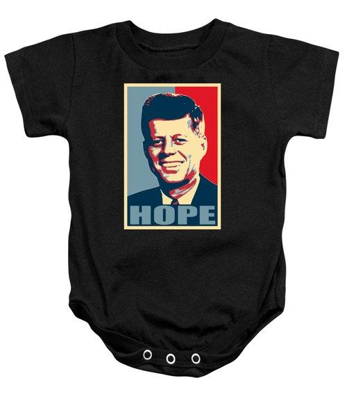 John F Kennedy Hope Poster Art Baby Onesie