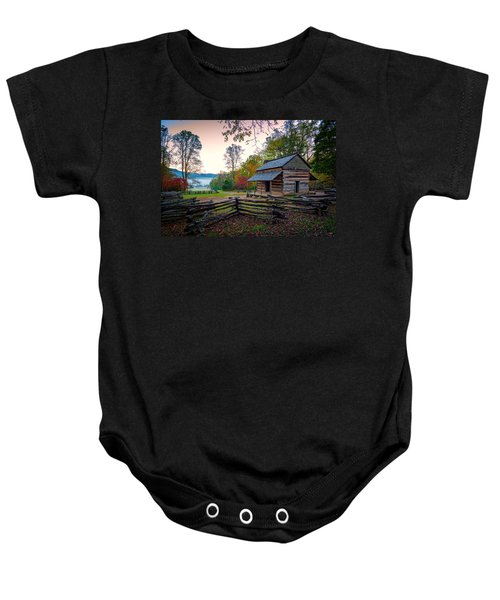John Oliver Place In Cades Cove Baby Onesie