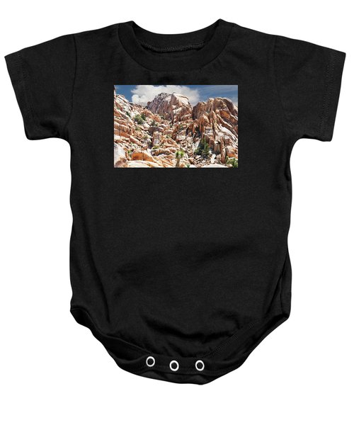 Joshua Tree National Park - Natural Monument Baby Onesie
