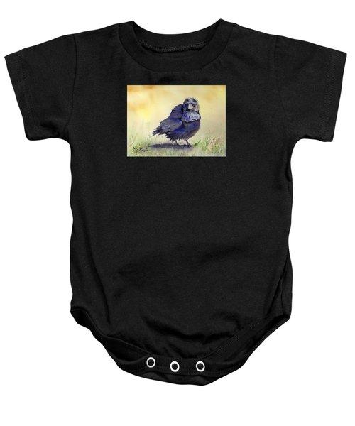 Judy's Raven Baby Onesie