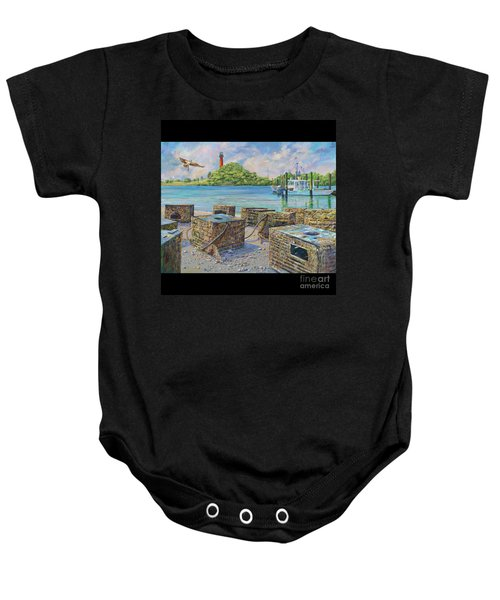 Jupiter's Red Lady Baby Onesie