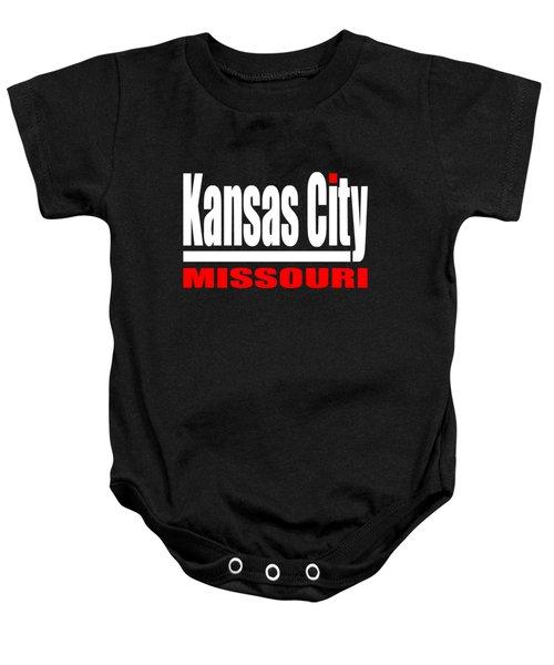 Kansas City Missouri Design Baby Onesie