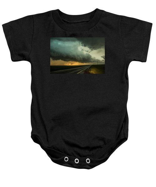 Kansas Storm Chase Bust Day 004 Baby Onesie