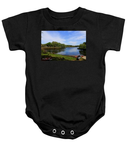 Kayaking The Cotee River Baby Onesie