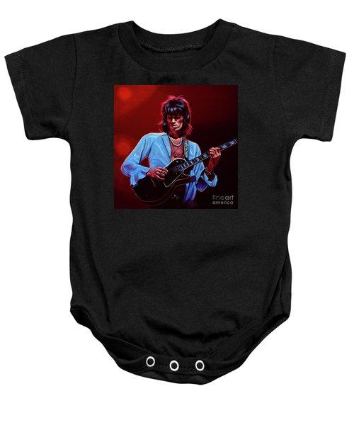 Keith Richards The Riffmaster Baby Onesie