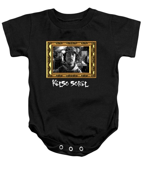 Baby Onesie featuring the painting Kelso Sorel by Chief Hachibi